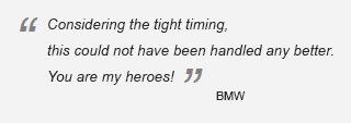 RA BMW Quote
