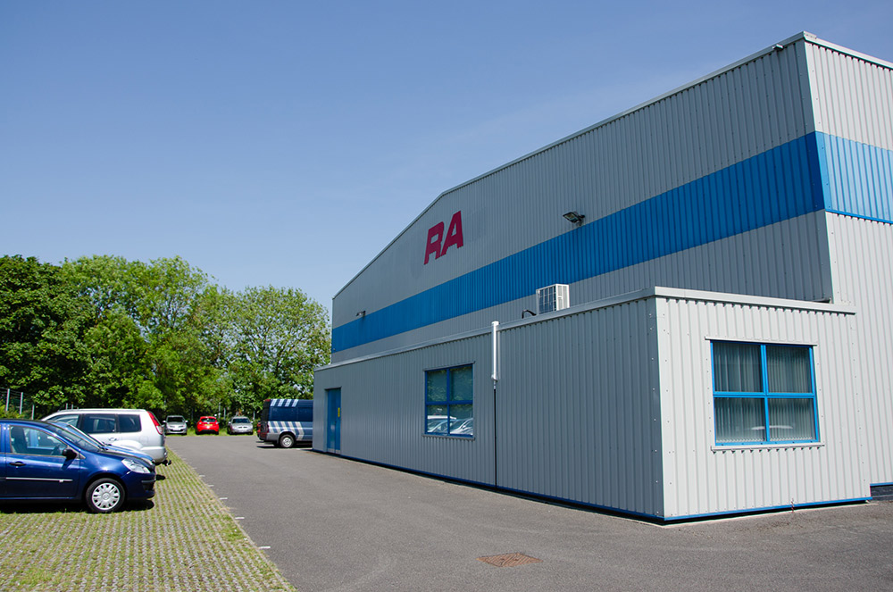 RA Production site in Daventry